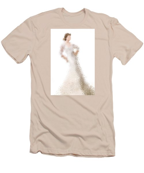 Men's T-Shirt (Slim Fit) featuring the digital art Penelope by Nancy Levan