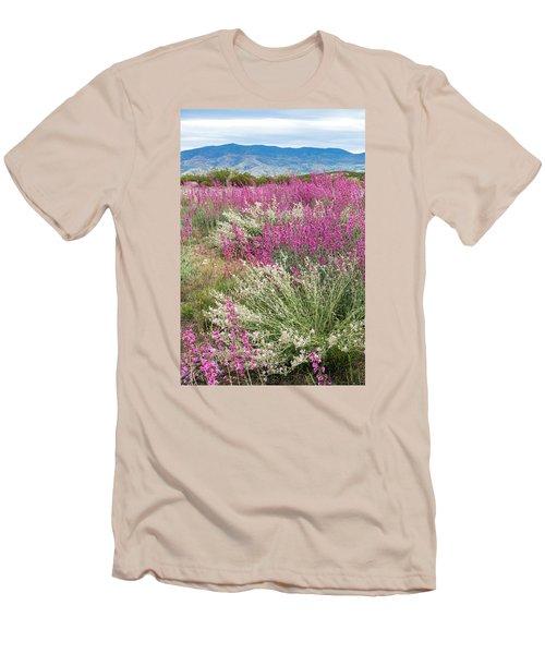 Penstemon At Black Hills Men's T-Shirt (Athletic Fit)