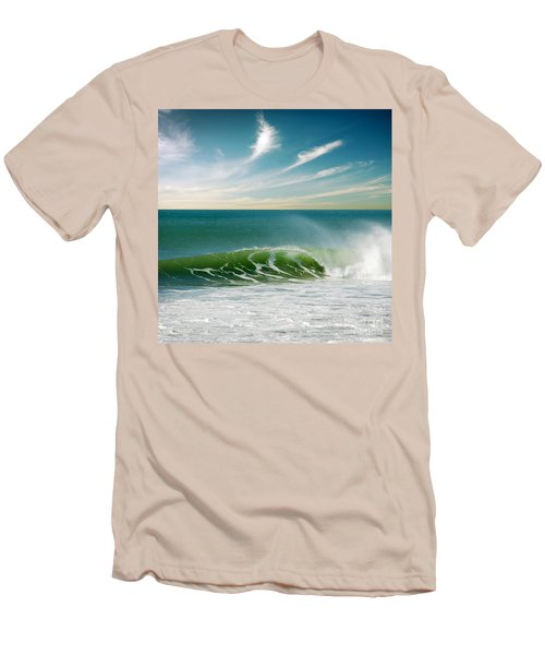 Perfect Wave Men's T-Shirt (Athletic Fit)