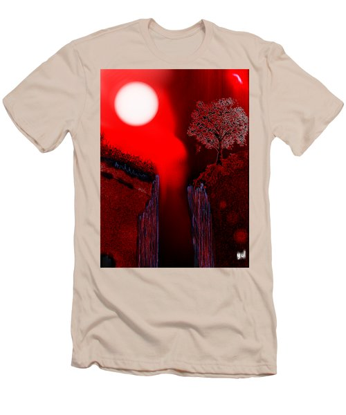 Perigee Moon 2 Men's T-Shirt (Slim Fit) by Yul Olaivar