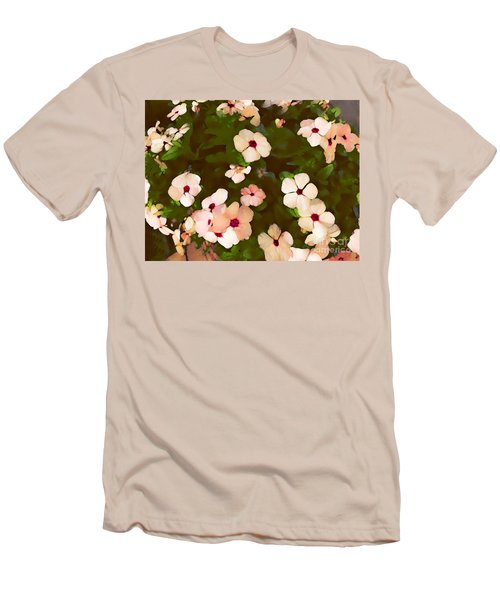 Periwinkle Men's T-Shirt (Slim Fit) by David Blank