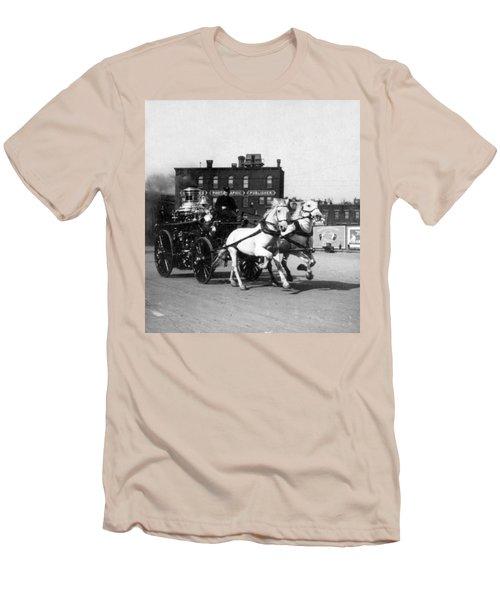Philadelphia Fire Department Engine - C 1905 Men's T-Shirt (Athletic Fit)