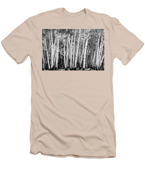 Pillars Of The Wilderness Men's T-Shirt (Slim Fit) by James BO Insogna