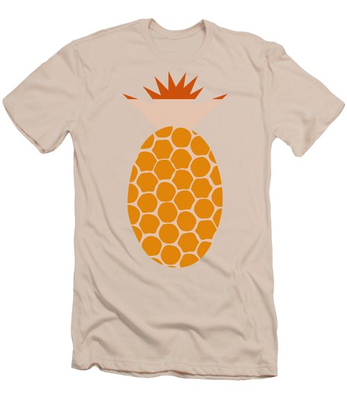 Men's T-Shirt (Slim Fit) featuring the painting Pineapple by Frank Tschakert