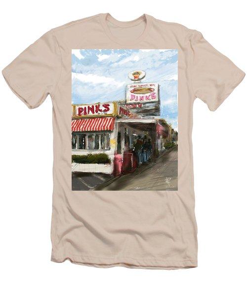 Pinks Men's T-Shirt (Athletic Fit)
