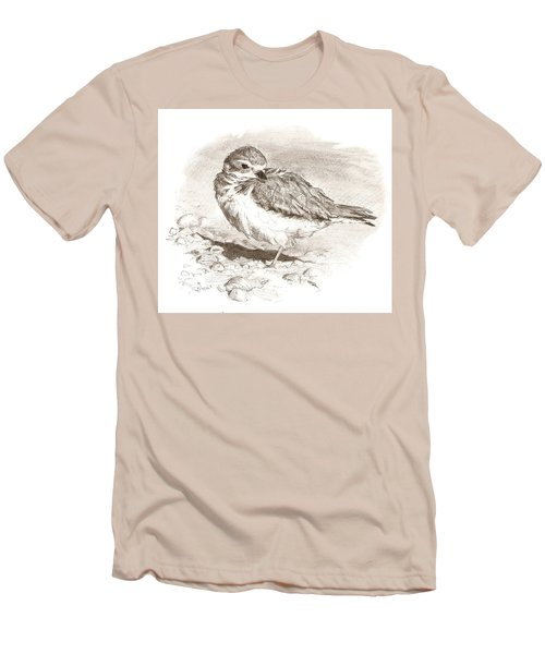 Piping Plover Men's T-Shirt (Athletic Fit)