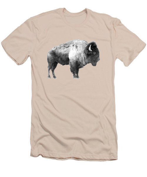 Plains Bison Men's T-Shirt (Athletic Fit)