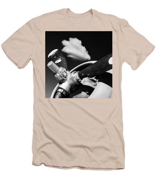 Men's T-Shirt (Slim Fit) featuring the photograph Plane Portrait 2 by Ryan Weddle