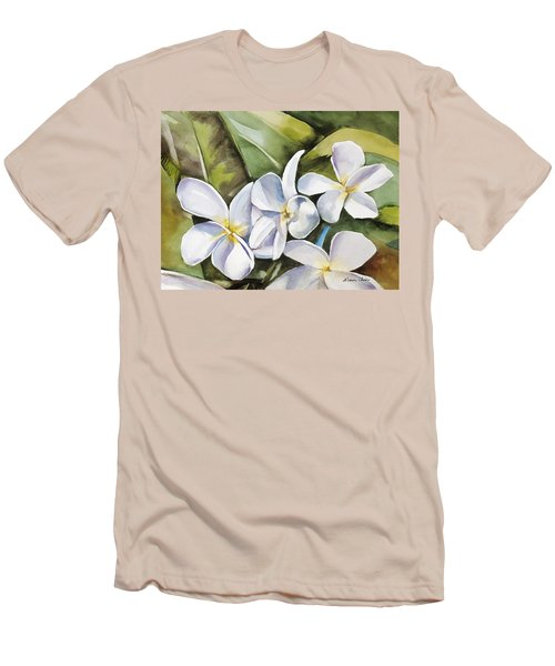 Plumeria II Men's T-Shirt (Athletic Fit)