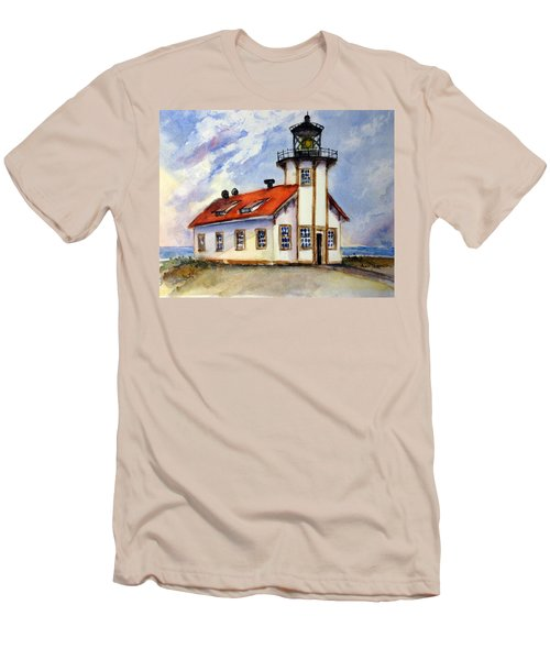 Point Cabrillo Light Station - Fort Bragg Men's T-Shirt (Athletic Fit)
