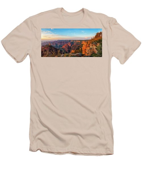 Point Imperial Sunrise Panorama II Men's T-Shirt (Athletic Fit)