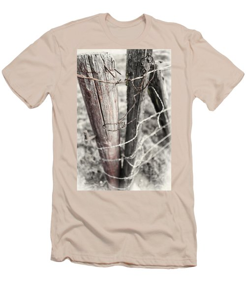 Points And Posts Men's T-Shirt (Slim Fit) by Caitlyn  Grasso