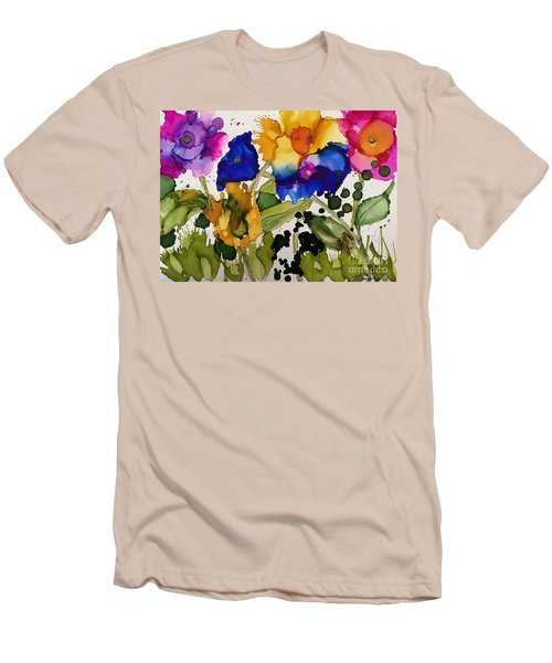 Poppy Party Men's T-Shirt (Athletic Fit)