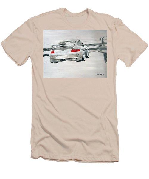 Porsche Gt3 Men's T-Shirt (Athletic Fit)