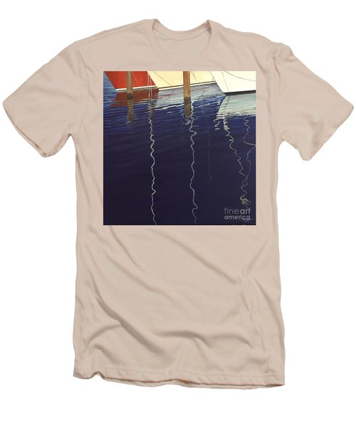 Port Of Saint Petersburg Men's T-Shirt (Athletic Fit)