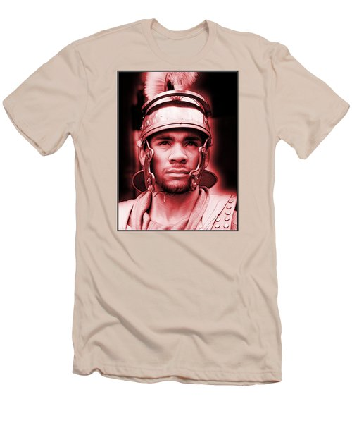 Portrait Of A Roman Soldier Men's T-Shirt (Athletic Fit)