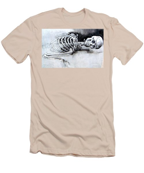 Portrait Of A Skeleton Men's T-Shirt (Athletic Fit)