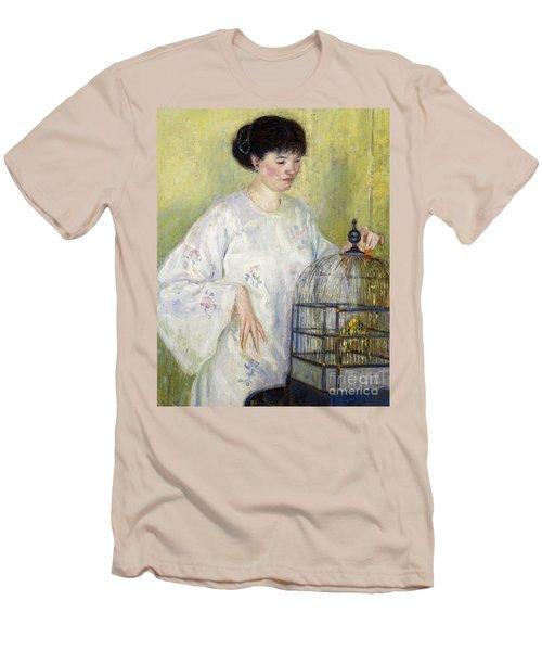 Portrait Of Madame Frieseke Men's T-Shirt (Athletic Fit)