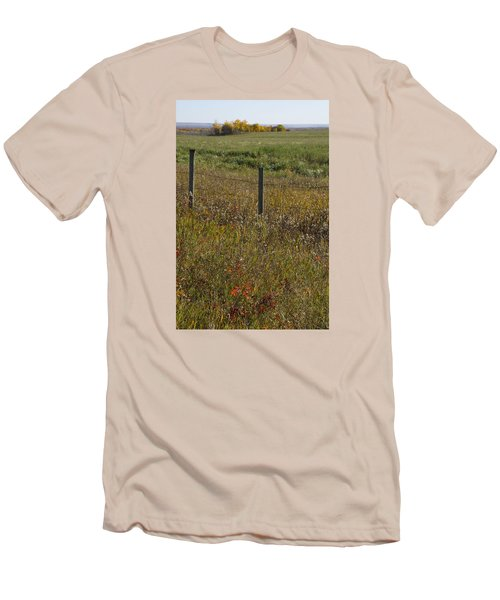 Prairie Autumn Men's T-Shirt (Athletic Fit)