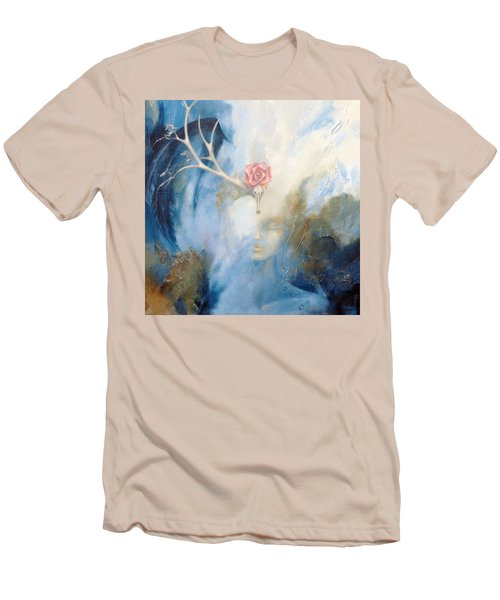 Priestess Men's T-Shirt (Slim Fit) by Dina Dargo