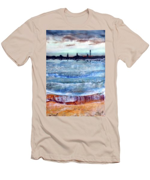 Provincetown Skyline 1 Men's T-Shirt (Athletic Fit)