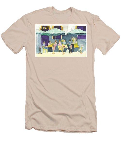 Pub In Harry Hjornes Plats Men's T-Shirt (Athletic Fit)