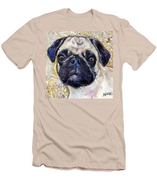 Pug Mug Men's T-Shirt (Slim Fit) by Molly Poole