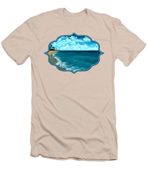 Punta Cana Beach Men's T-Shirt (Athletic Fit)