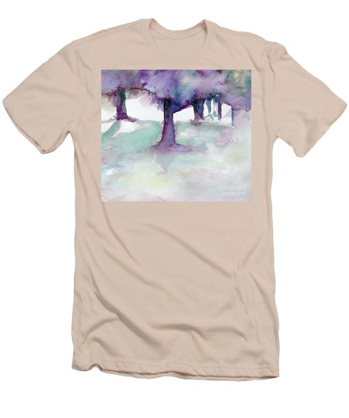 Purplescape II Men's T-Shirt (Athletic Fit)