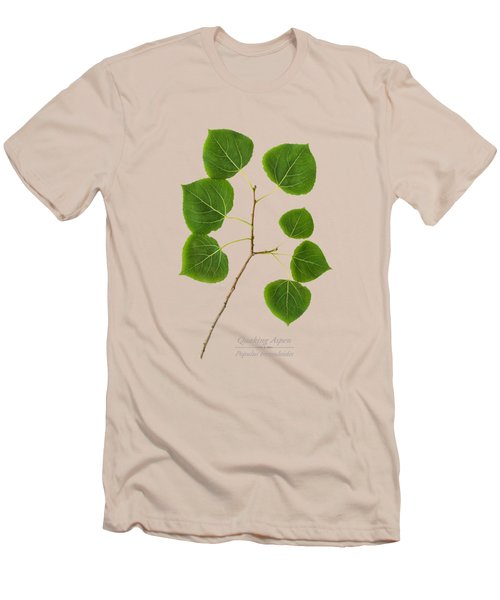 Men's T-Shirt (Slim Fit) featuring the photograph Quaking Aspen by Christina Rollo