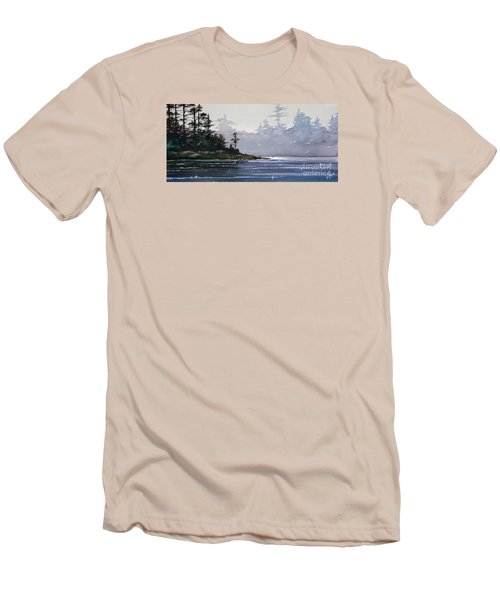 Quiet Shore Men's T-Shirt (Slim Fit) by James Williamson