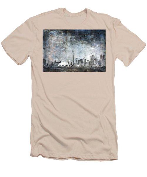 Quiet Sky Men's T-Shirt (Athletic Fit)