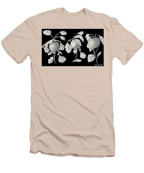 Radishes Men's T-Shirt (Slim Fit) by Quwatha Valentine