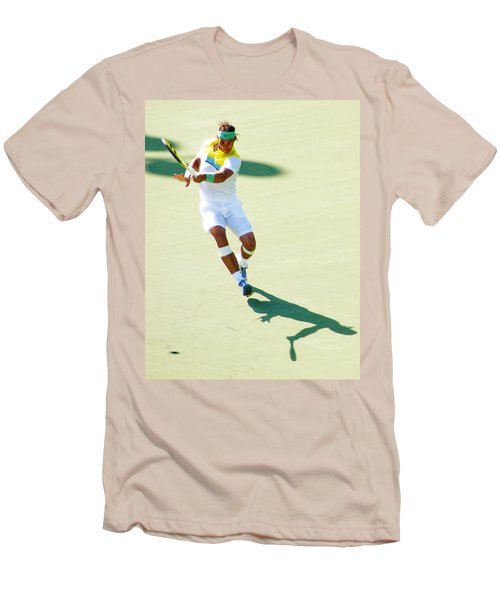 Rafael Nadal Shadow Play Men's T-Shirt (Athletic Fit)