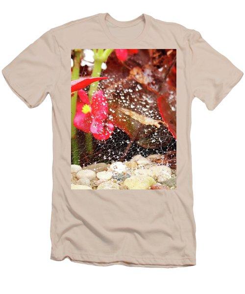 Rain Drops Men's T-Shirt (Athletic Fit)