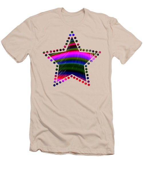 Rainbow Waves Men's T-Shirt (Athletic Fit)