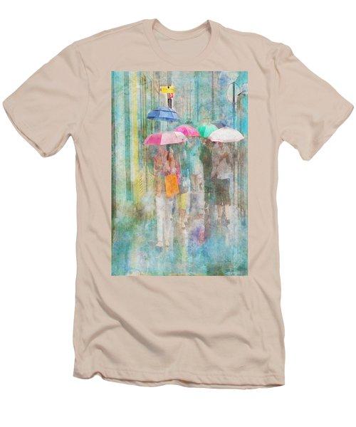 Rainy In Paris 2 Men's T-Shirt (Athletic Fit)
