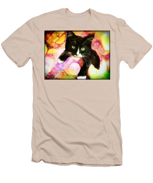Rama The Miracle Cat Men's T-Shirt (Athletic Fit)