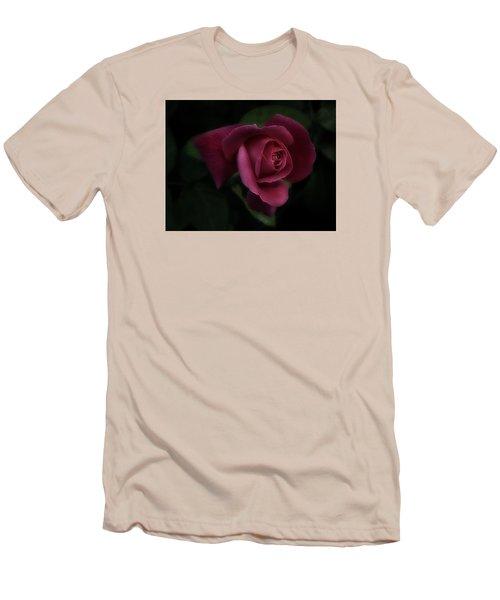 Rambling Rose Men's T-Shirt (Slim Fit) by Richard Cummings