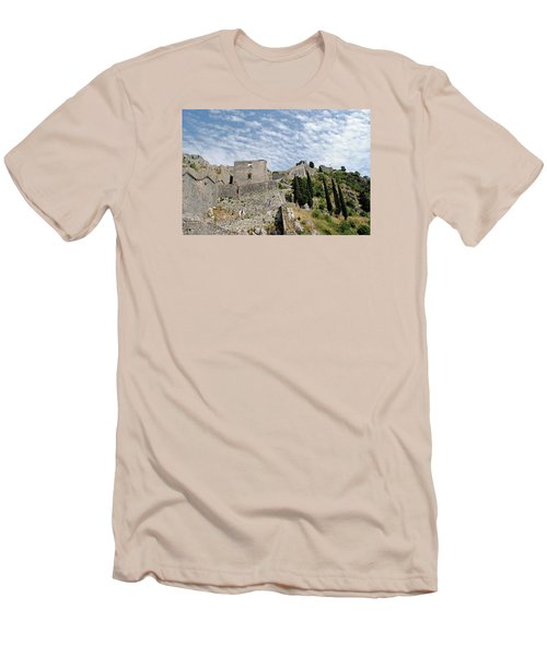 Ramparts Of Montenegro Men's T-Shirt (Athletic Fit)