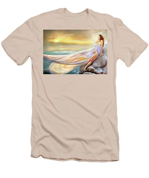 Rapture In Midst Of The Sea Men's T-Shirt (Slim Fit) by Michael Rock
