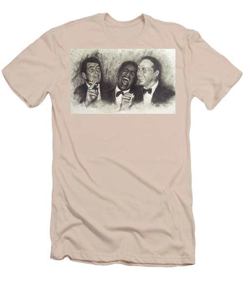 Rat Pack Men's T-Shirt (Slim Fit) by Cynthia Campbell