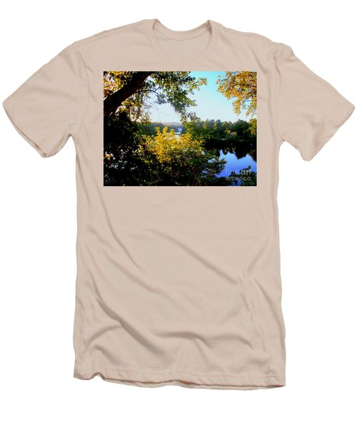 Men's T-Shirt (Slim Fit) featuring the photograph Rawdon by Elfriede Fulda