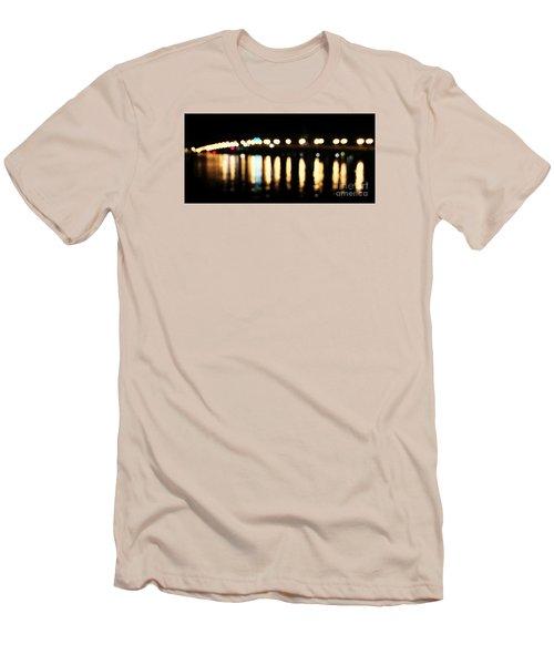 Bridge Of Lions -  Old City Lights Men's T-Shirt (Athletic Fit)