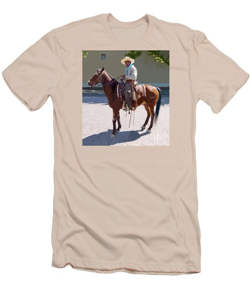 Real Cowboy Men's T-Shirt (Athletic Fit)