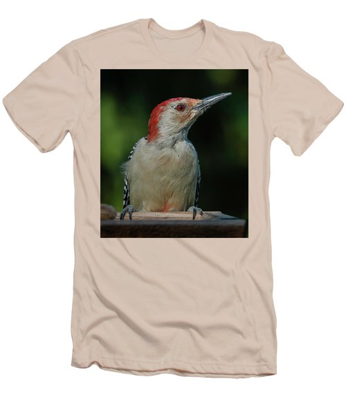 Men's T-Shirt (Slim Fit) featuring the photograph Red At Sunrise by Jim Moore