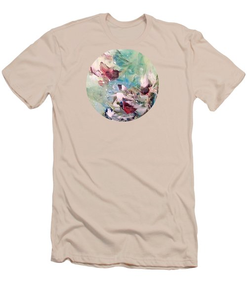 Red Birds In Winter Men's T-Shirt (Athletic Fit)