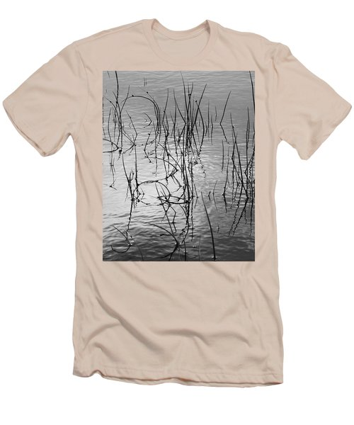 Reeds Men's T-Shirt (Slim Fit) by Art Shimamura