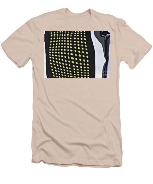 Men's T-Shirt (Slim Fit) featuring the photograph Reflection On 42nd Street 1 by Sarah Loft