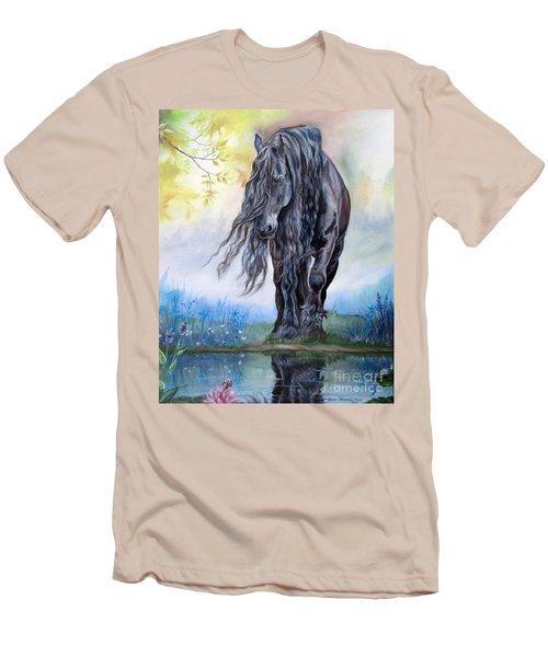 Reflective Beauty Men's T-Shirt (Athletic Fit)